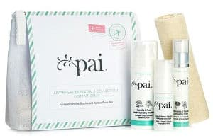 Pai skincare for travelling or trialling