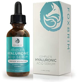 Hyaluronic Acid Serum with Vitamins C and E by Foxbrim