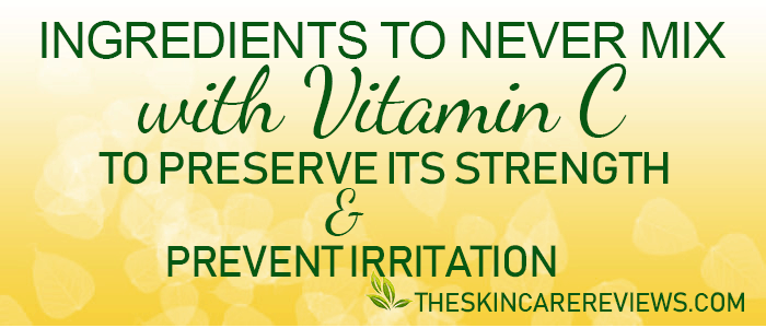 How to prevent vitamin C serum skin irritation and dryness
