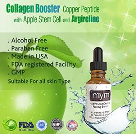 MyM Copper Peptide Serum with Apple Stem Cell and Argireline