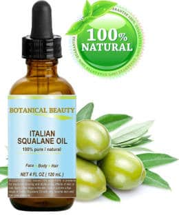 Botanical Beauty Natural Italian Squalane Moisturizer Oil