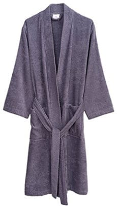 TowelSelections Turkish Cotton Terry Kimono Bathrobe