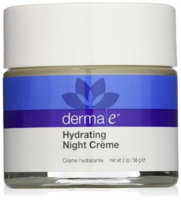 Derma e hyaluronic acid night cream