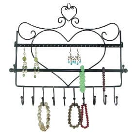 Heart shape jewelry organizer