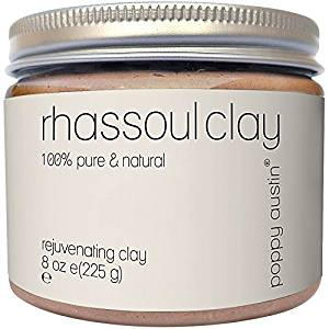 Rhassoul clay for skin and hair care