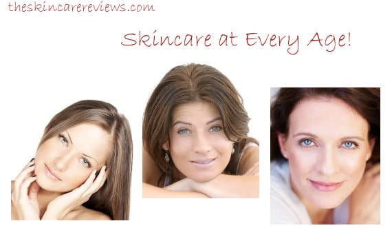 Anti aging skincare at every age
