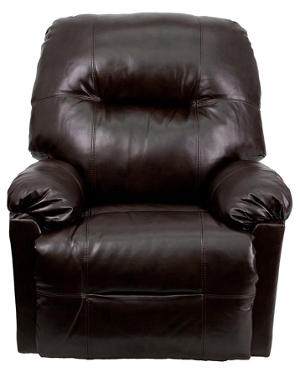 Contemporary Bentley Brown Leather Chaise Power Recliner with Push Button  sc 1 st  The Skin Care Reviews & Best Recliner Chair For Lower Back Pain islam-shia.org