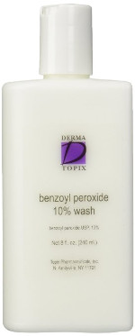 Topix Benzoyl Peroxide 10% Wash