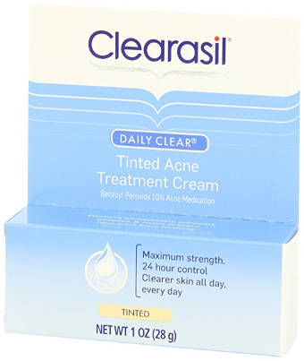 Clearasil Daily Clear Tinted Acne Treatment Cream