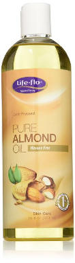 Life-Flo Cold Pressed Pure Almond Oil