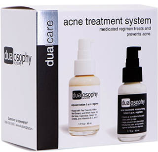 DualCare Acne Treatment System with 3% Benzoyl Peroxide