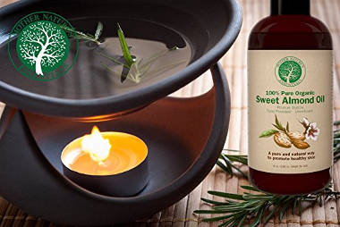Mother Nature's Essentials Organic and Pure Sweet Almond Oil