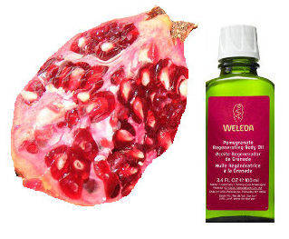 Pomegranate seed oil for skin