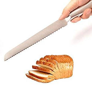 IBEET serrated bread and cake knife