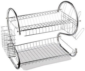 Better Chef DR-16 2-Tier Dish Rack