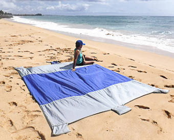 Sand Escape Compact Outdoor Beach Blanket