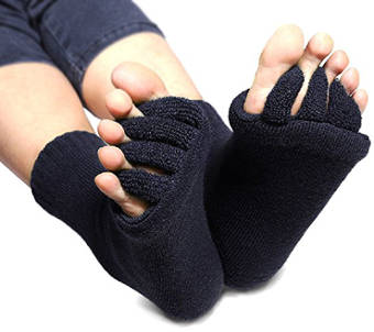 Flesser Yoga Sports Gym Five Toe Separator Socks