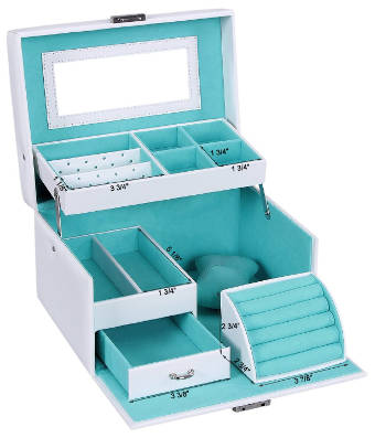 Songmics jewelry box