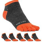 Fun Toes Men's toe socks