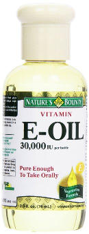 Nature's Bounty Vitamin E Oil 30,000 IU