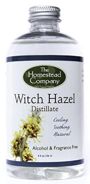 Witch Hazel Distillate + Facial Cleansing Cotton Pads
