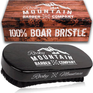 Rocky Mountain Barber Company Boar Hair Beard Brush