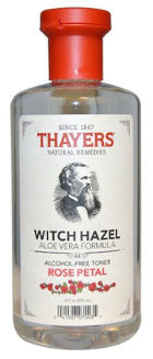 Thayers Alcohol Free Rose Petal Witch Hazel with Aloe Vera