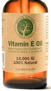 Natural Vitamin E Oil (14000 IU) by Mother Nature´s Essentials
