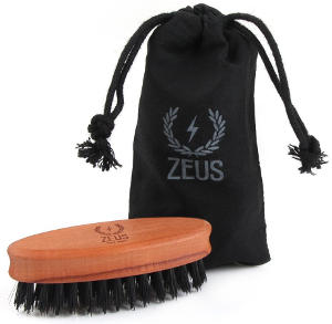 Zeus 100% Boar Bristle Pocket Brush
