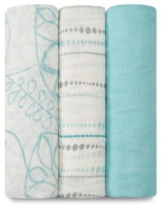 Aden + anais silky soft swaddle 3 pack