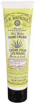 J.R. Watkins Natural Shea Butter Hand Cream with Aloe and Green Tea