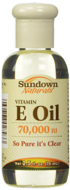 Sundown Naturals Vitamin E Oil 70,000 IU
