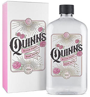 Quinns Witch Hazel Rose Petal & Aloe Vera Natural Toner