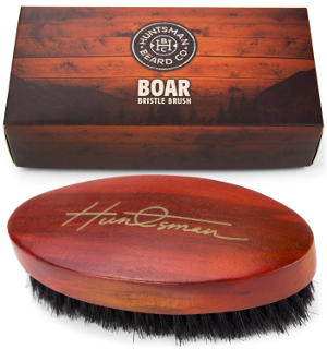 Boar Bristle Beard Brush by Huntsman Beard