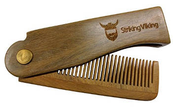 Folding Wood Comb by Striking Viking