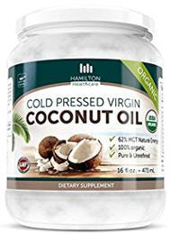 Hamilton Healthcare Cold Pressed Extra-Virgin Coconut Oil