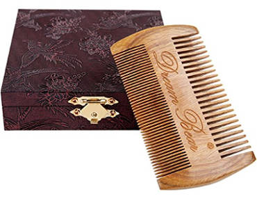 DREAM BEAR® Handmade Green Sandalwood Comb