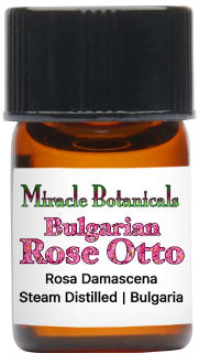 Miracle Botanicals Bulgarian Rose Otto Essential Oil