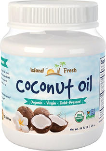 Island Fresh Organic Coconut Oil