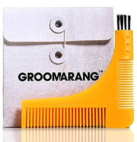 Groomarang Beard Styling/ Shaping Template Comb Tool