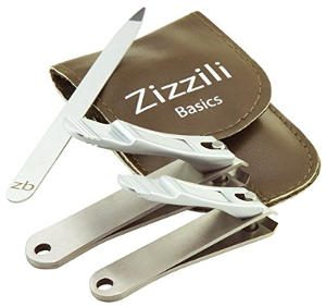 3 Piece Nail Clipper Set by Zizzili Basics