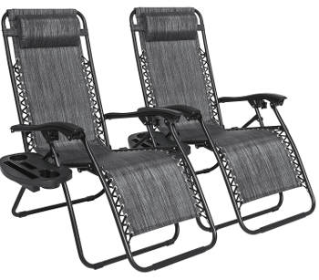 Lounge patio chairs