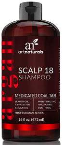 ArtNaturals Coal Tar Therapeutic Anti-Dandruff Shampoo