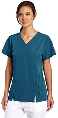 Dickies Scrubs Women's Xtreme Stretch V-Neck Shirt