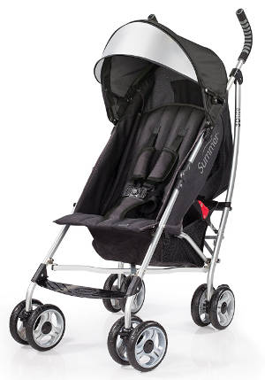 Summer Infant 2014 3D Lite Convenience Stroller (Black)