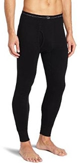 Duofold Men's Mid-Weight Wicking Thermal Pants