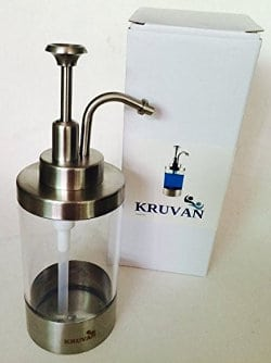 KRUVAN Soap dispenser for Liquid Soaps and Lotions
