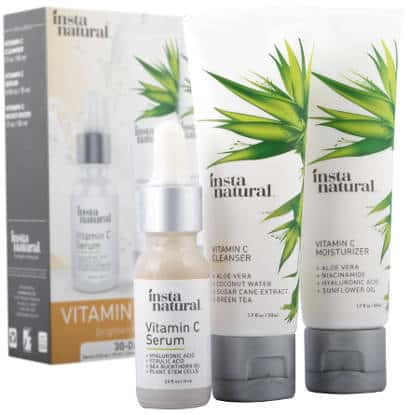 InstaNatural Vitamin C Skin Trio Bundle