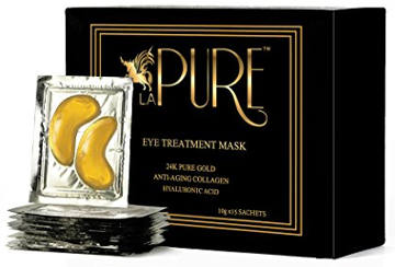 LA PURE 24K Gold Eye Treatment Mask