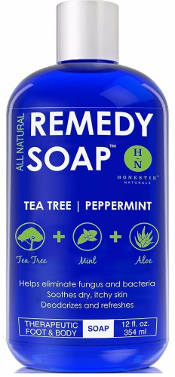 Natural Remedy Antifungal Soap by Remedy Wash